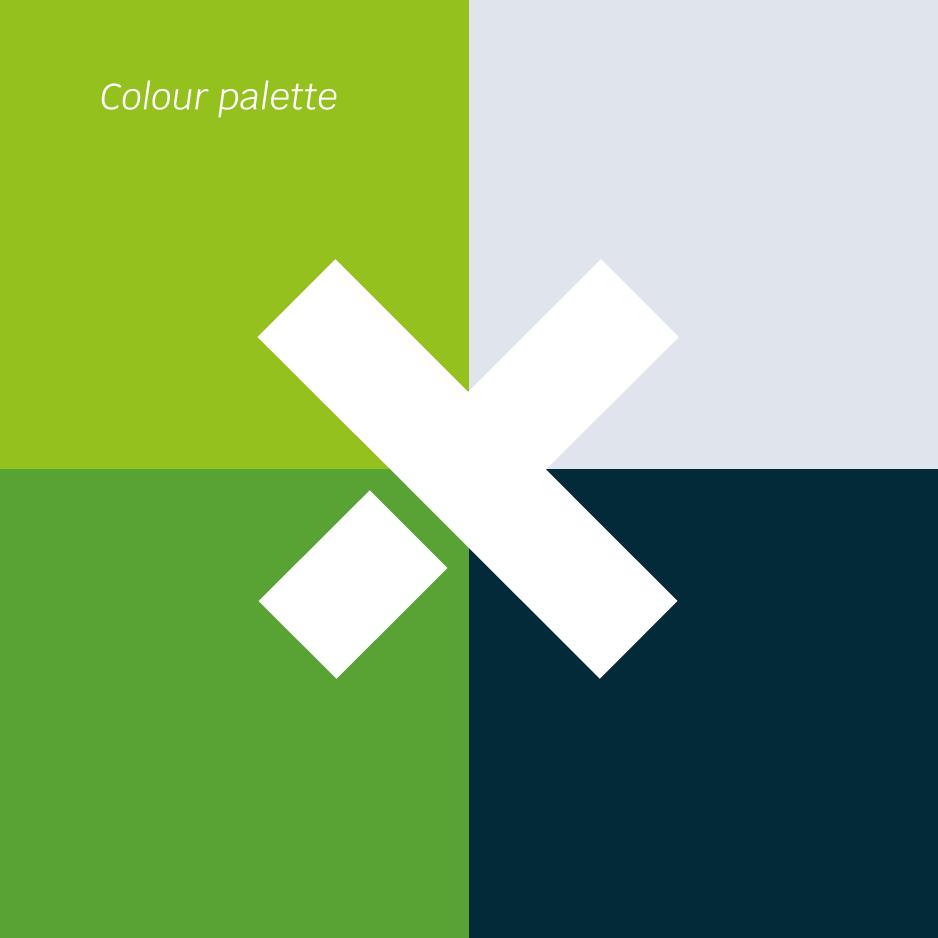 Paleta de colors de la marca