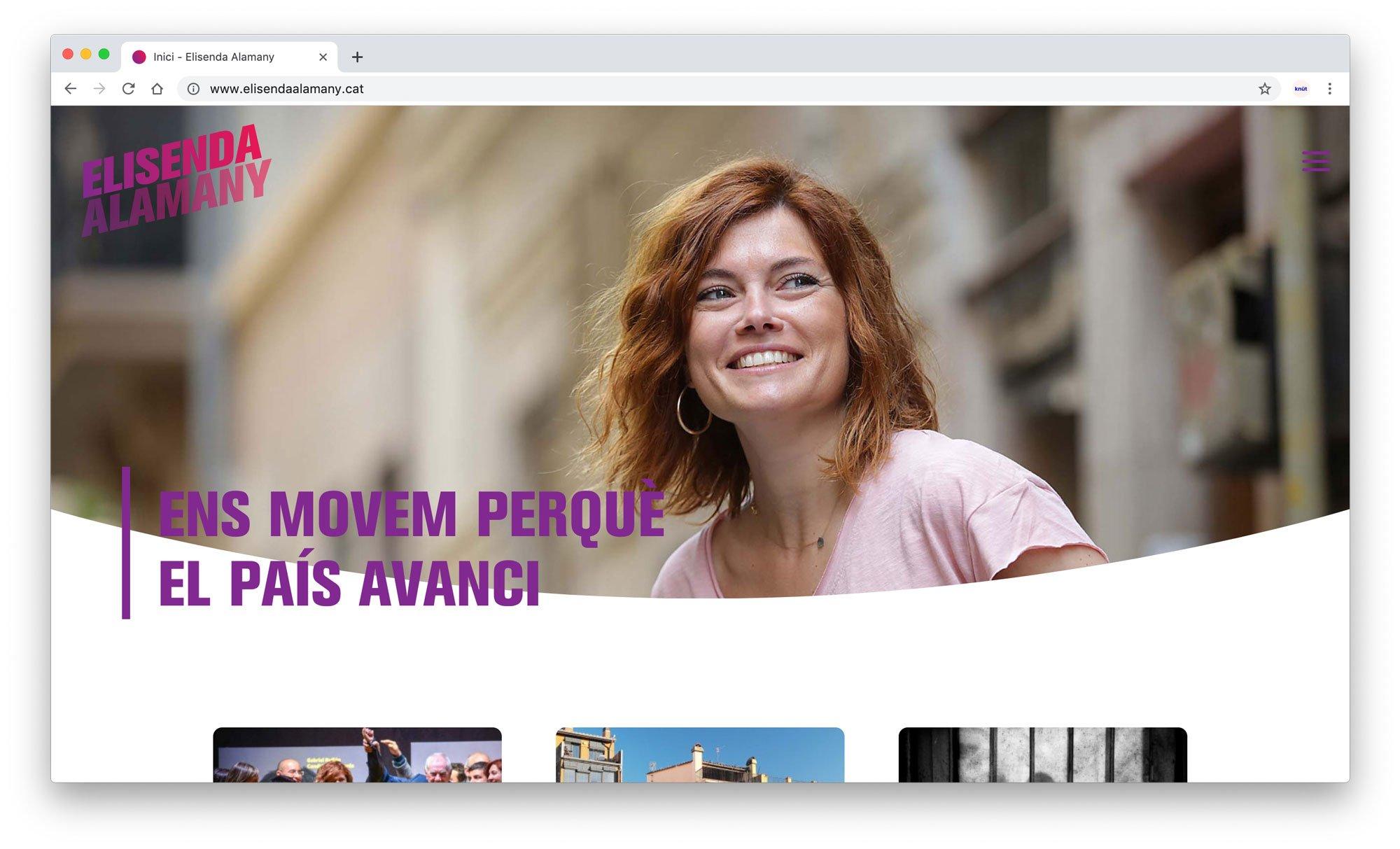 Web Elisenda Alamany