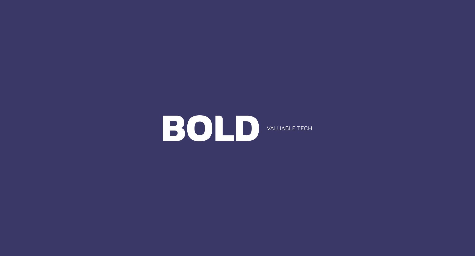 Logo de Bold en blanc
